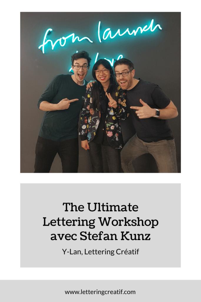 Mon avis sur le workshop de Stefan Kunz