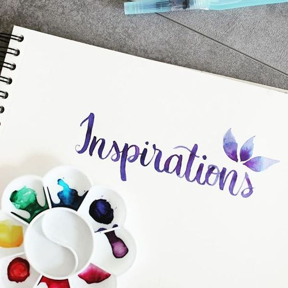 inspirations en lettering