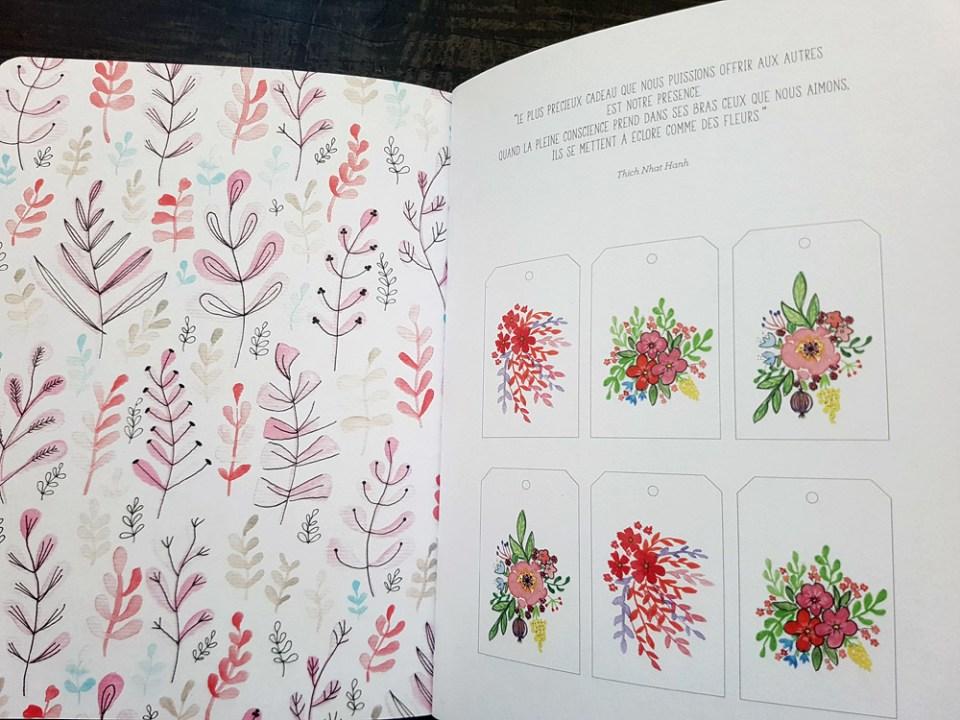 """pages du livre """"Doodling Créatif"""" de Julie Adore (éditions Eyrolles)"""