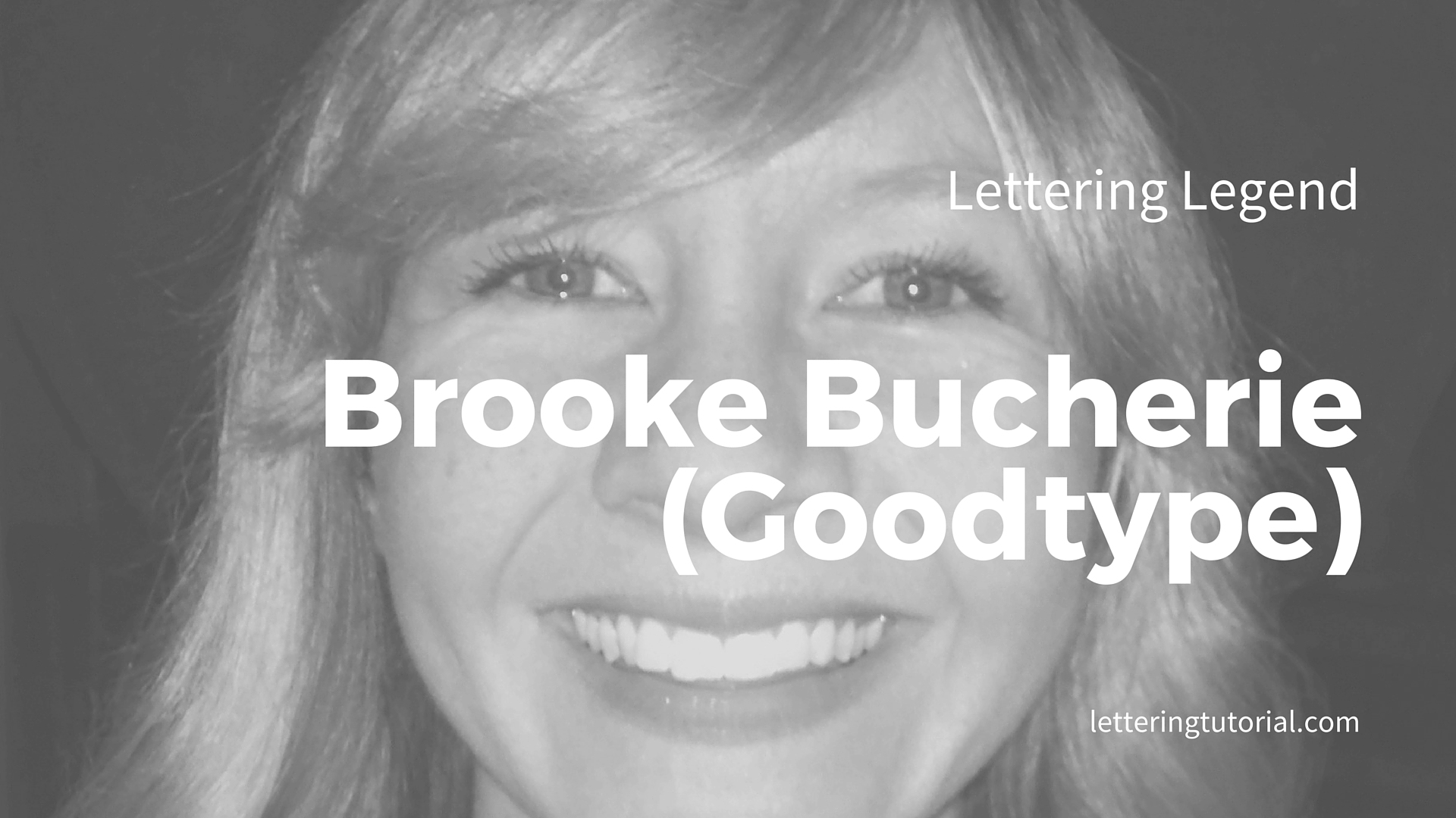 Lettering Legend - Brooke Bucherie (Goodtype) Interview - Lettering Tutorial