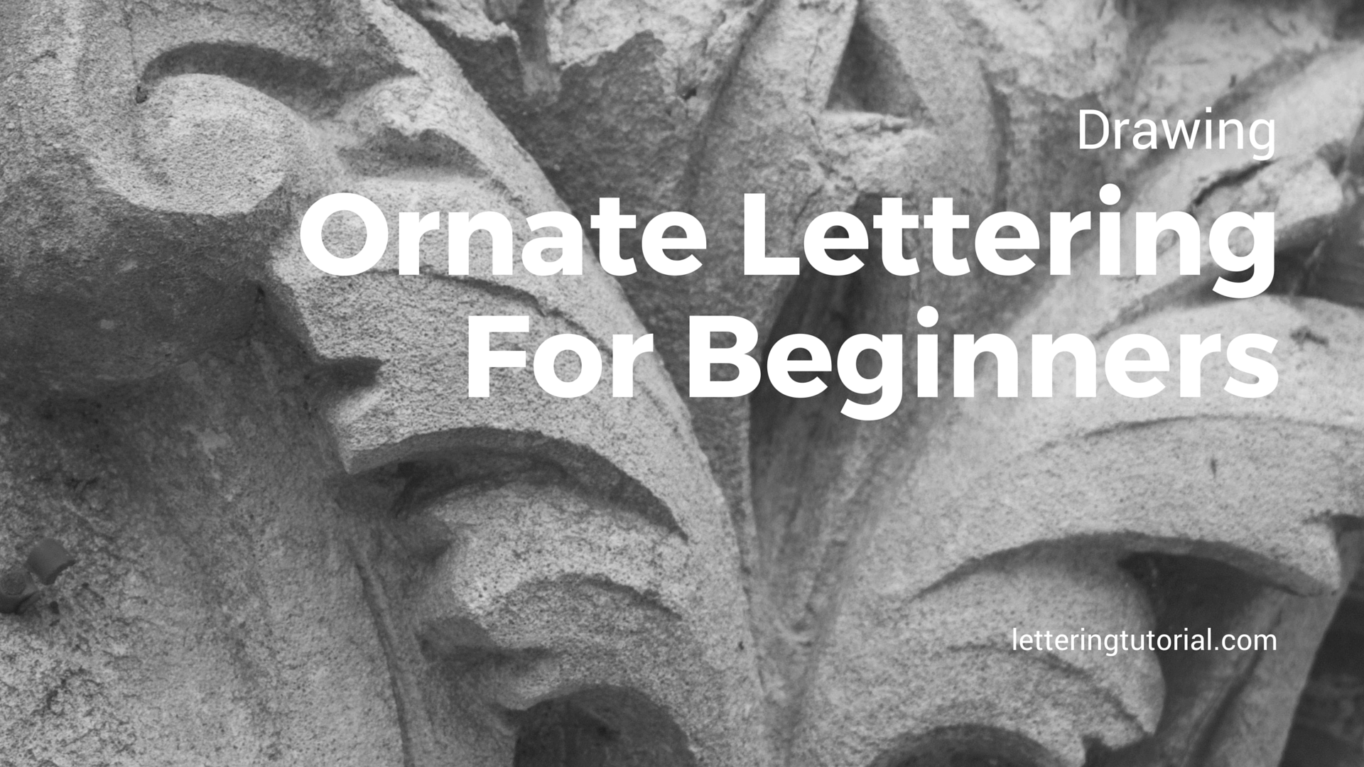 Drawing Ornate Lettering For Beginners