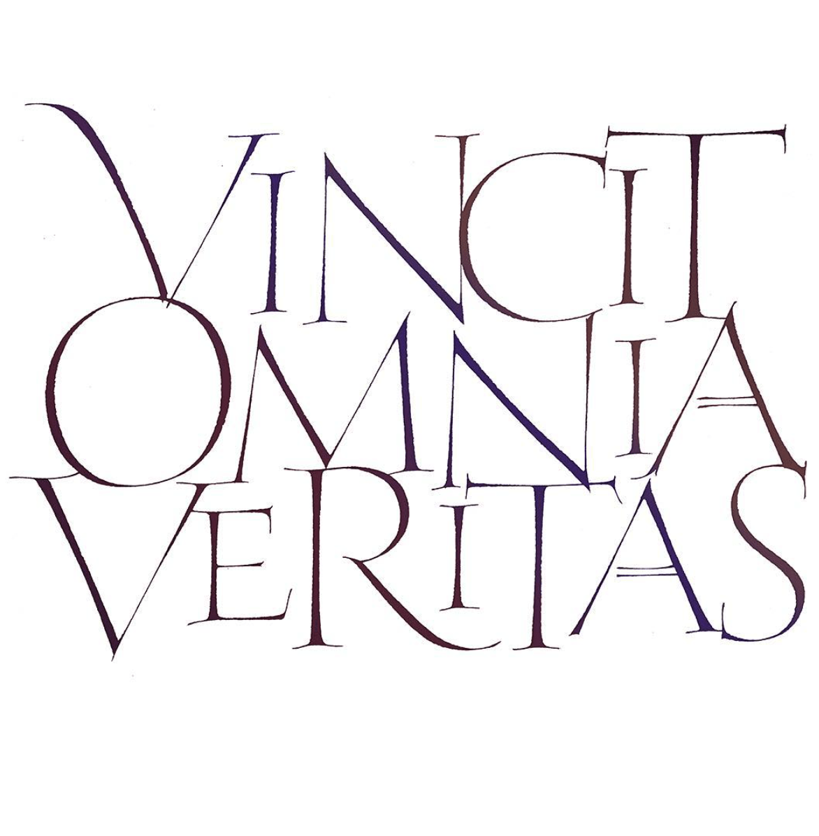 John Stevens Vincit Omnia Veritas - Lettering Tutorial