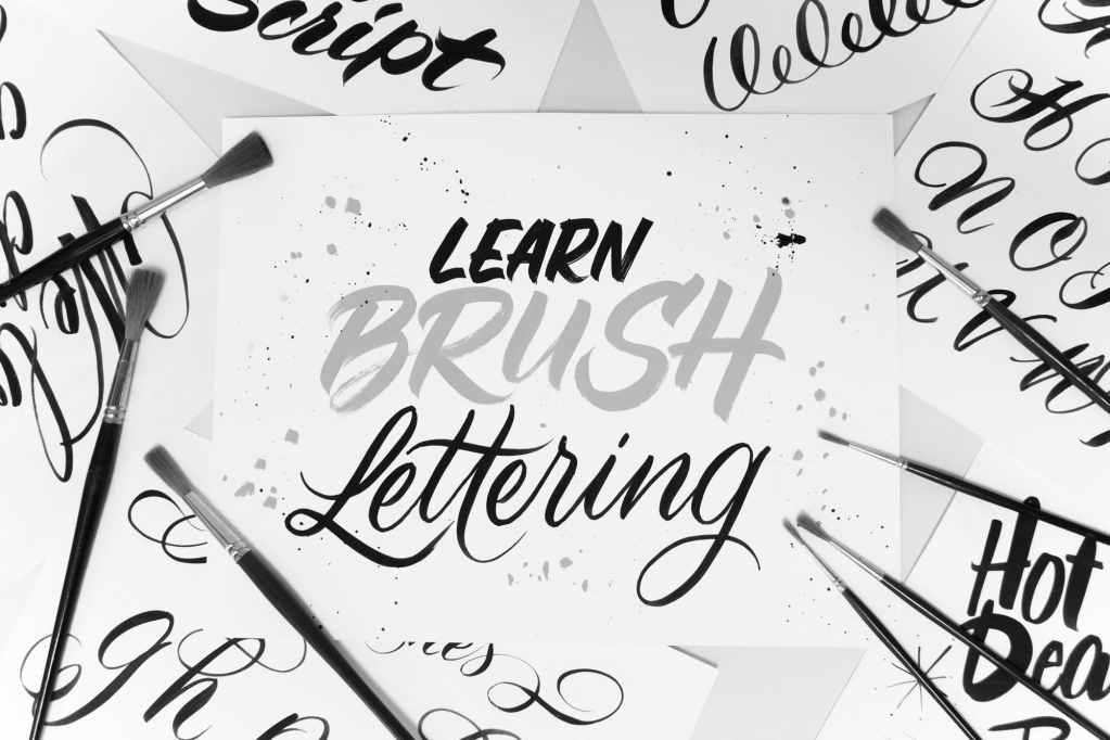 Learn Brush Lettering and a Great Giveaway