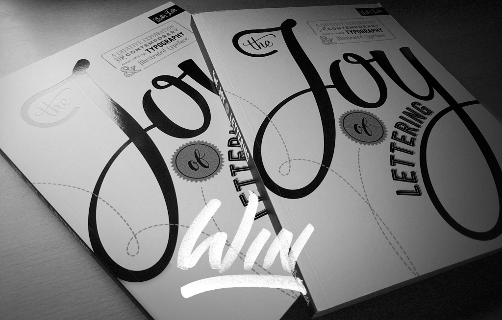 The Joy of Lettering Book Giveaway - Lettering Tutorial