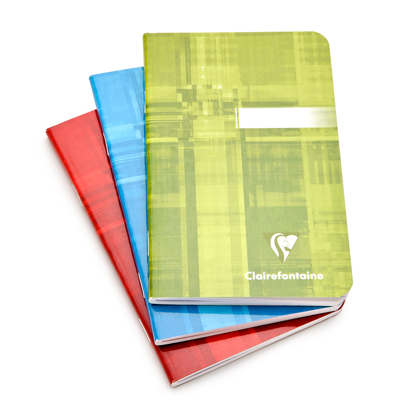 Clairefontaine Classic Staple-Bound Notebook