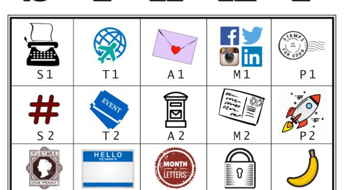 STAMP — Lettermo Bingo