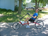 A different bicycle for all terrain!