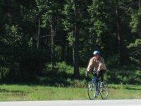 Gary on a Bike---big surprise!
