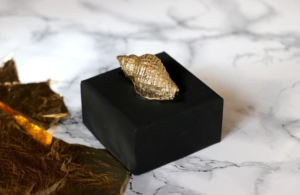 Letters & Beads DIY Edle Geschenkverpackung Blattgold