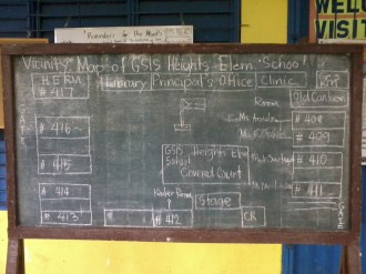 GSIS Heights Elementary School vicinity map