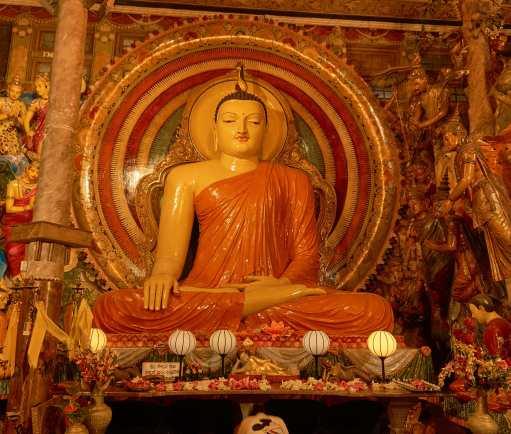 Buddha on an altar