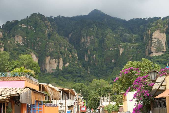 Rainly weather in Tepoztlan, Mexico