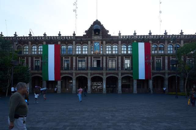 Main square of Cuernavaca, Morelos