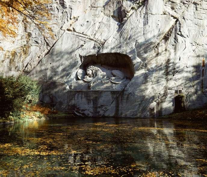 Lion Monument in Luzern