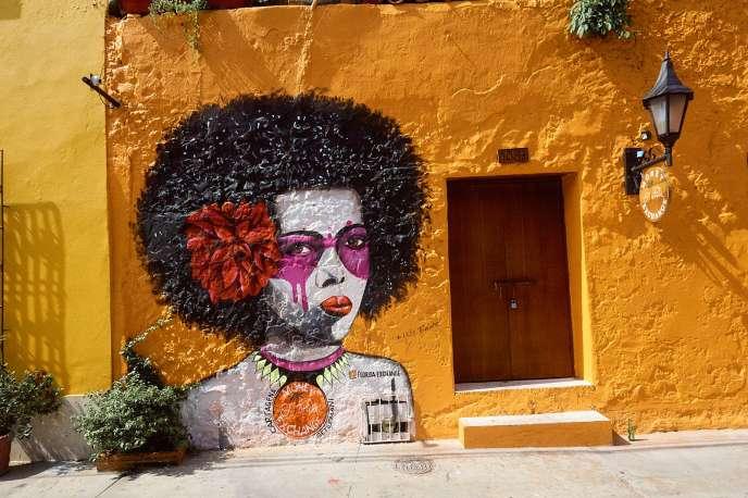 Graffiti in Getsemani Cartagena