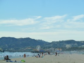 The well known Santa Monica Pier