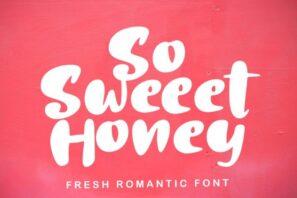 So Sweet Honey
