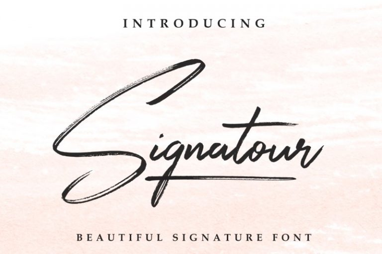 Preview image of Signatour