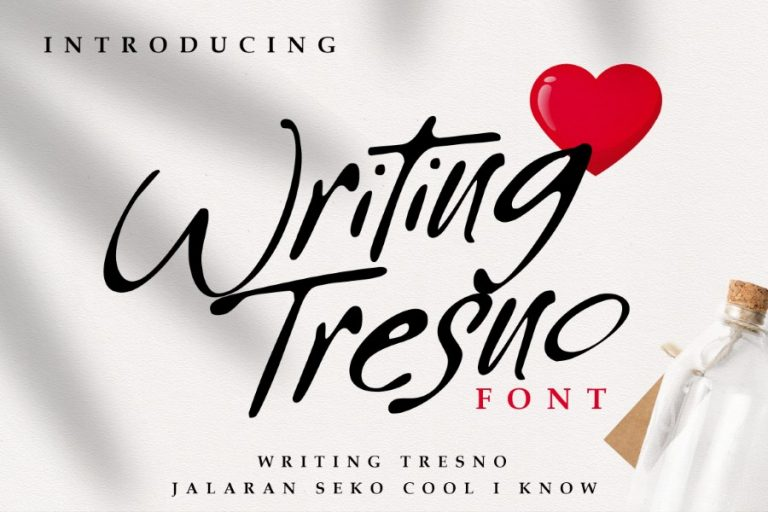 Preview image of Writing Tresno