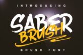 Last preview image of Saber Brush
