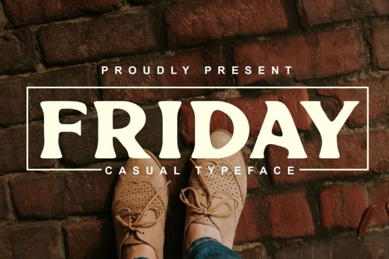 Preview image of Friday Font