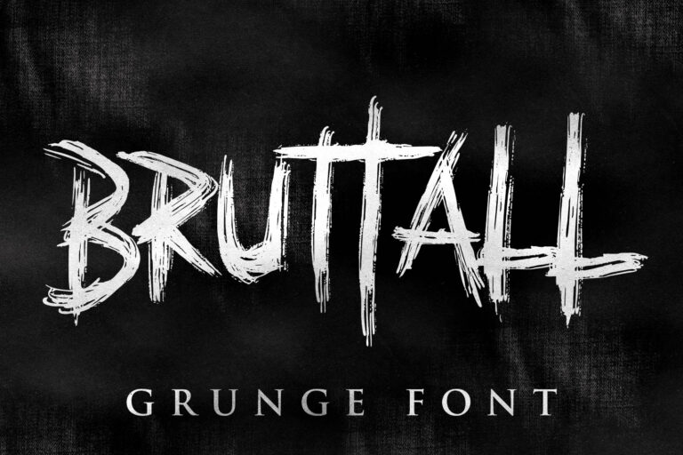 Preview image of Bruttal Metal Font