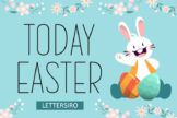Last preview image of Today Easter