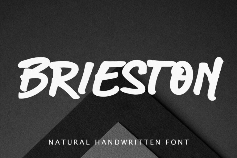 Brieston Advertisement Font