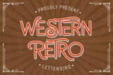 Last preview image of Western Retro