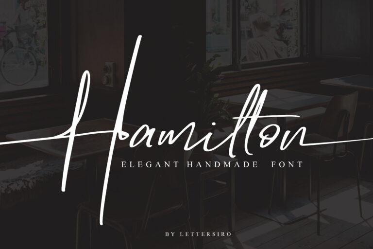 Hamilton - POD License