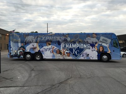 Kansas City Bus Wraps
