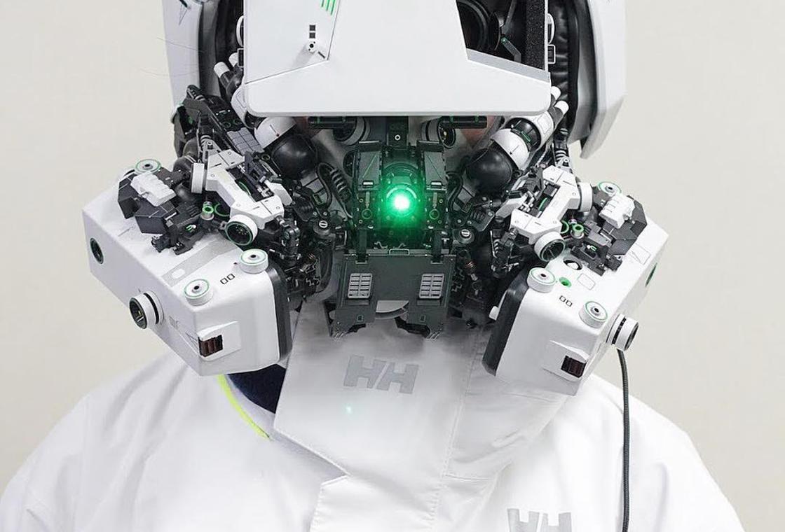 Les créations cyberpunk de Hiroto Ikeuchi