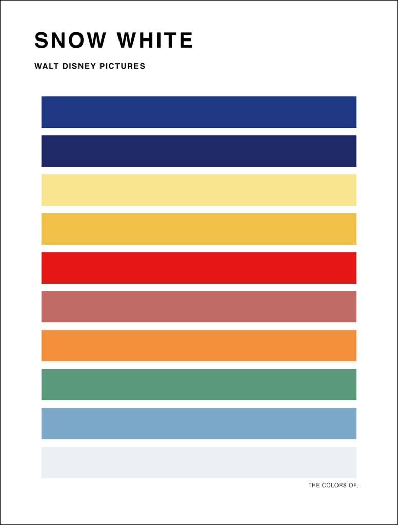 Les couleurs des films par Hyo Taek Kim
