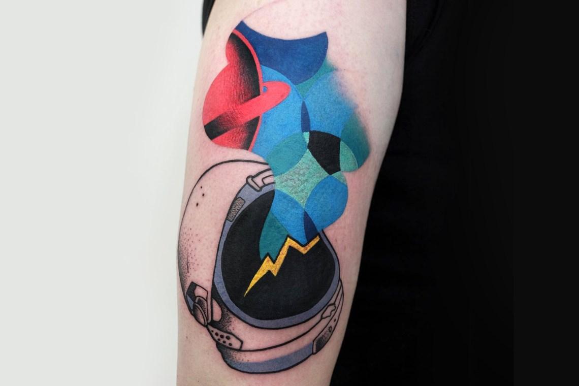 Les tatouages significatifs de Aleksy Marcinow