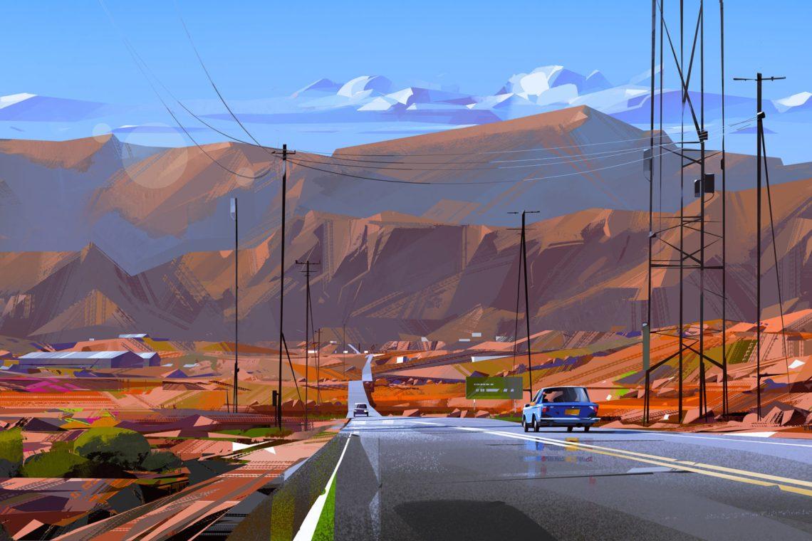 Les illustrations dynamiques de Michal Sawtyruk