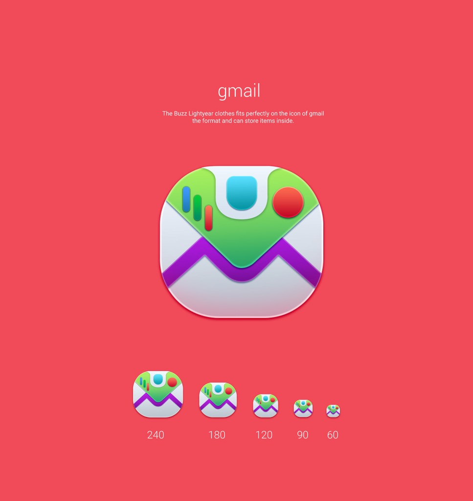 gmail Toy Story