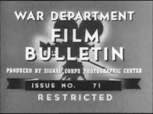 WWII Army Training Films