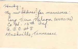 Beany's Tennessee address