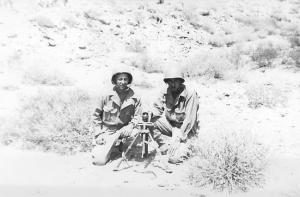 Mortar Setup, Desert Maneuvers
