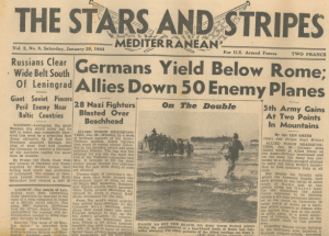 Stars And Stripes January 1944