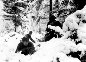 Snow On The Siegfried Line