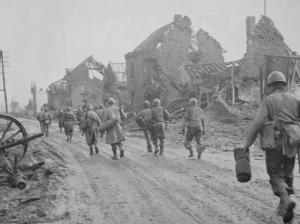8th Division In Kleinhau, December 1944
