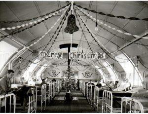 Hospital Ward Christmas, 1944
