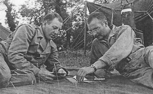 Playing Cribbage In Normandy