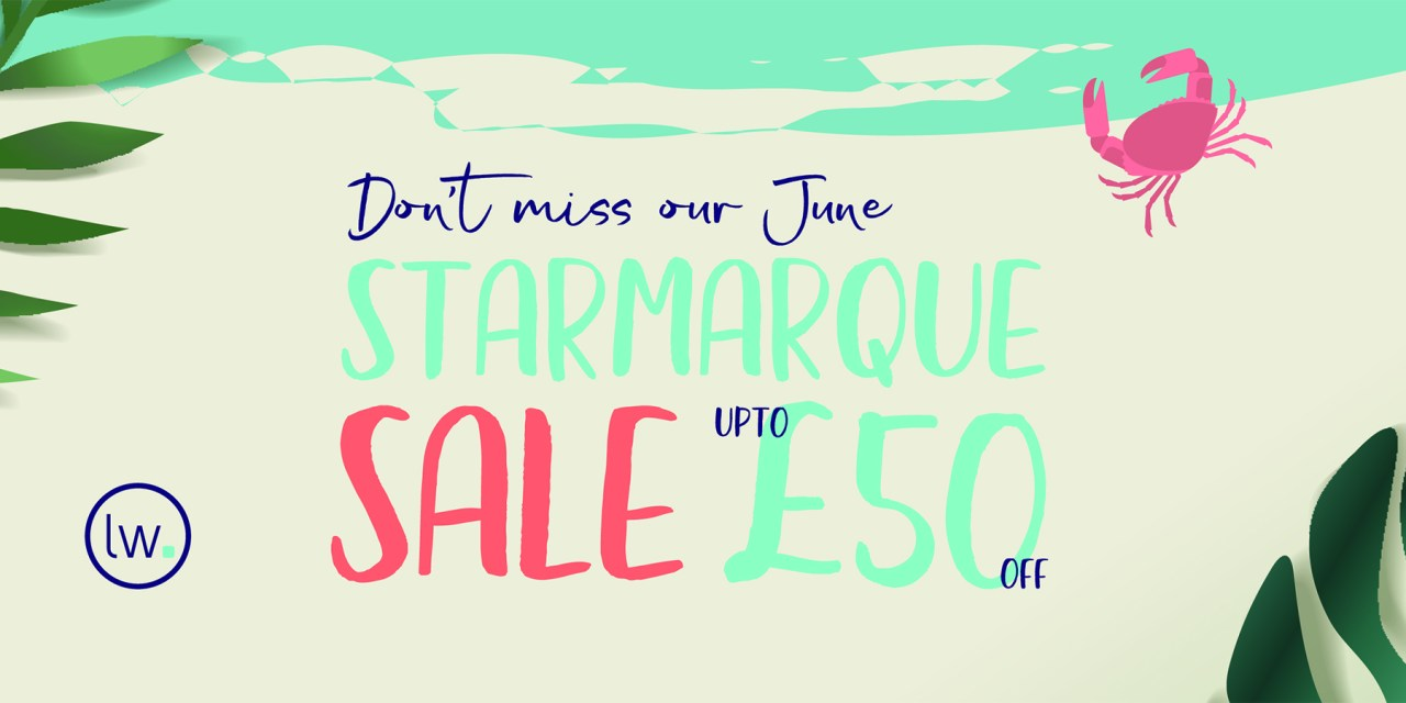 Our shiny June Promotion – Up to £50 off StarMarque Print