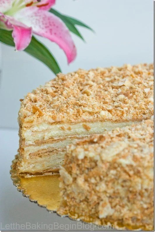 Best Napoleon Cake ever!