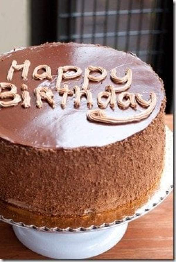 Prague Cake - Chocolate cake filled with Chocolate Custard Buttercream.