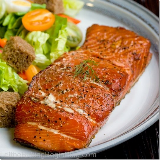 Smoked salmon recipe that tells you all about how to smoke salmon in the comfort of your own home.