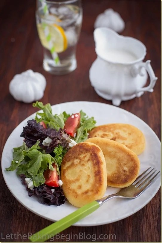 Crispy Mashed Potato Pancakes are always a hit at our house. This is definitely the best leftover mashed potato recipe you'll have!