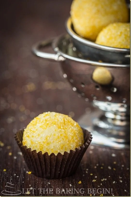 Lemon Truffles are made with just a couple of ingredients and are super easy to put together. If you love lemon, these will become your favorite quick!